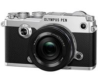 Olympus PEN-F Kit 14-42mm (Zilver/Zwart)